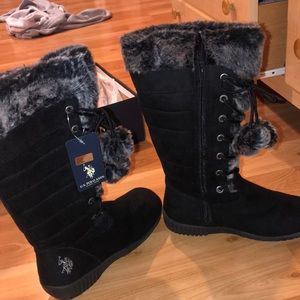 NEW WITH TAGS POLO SNOW BOOTS
